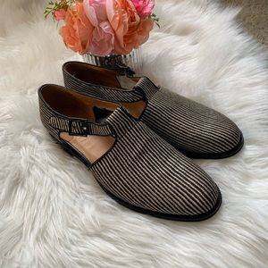 NWOB, Paul Smith, woven cut out loafers, size 41
